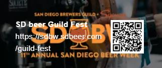 11/1--11/10 SD beer Guild Fest