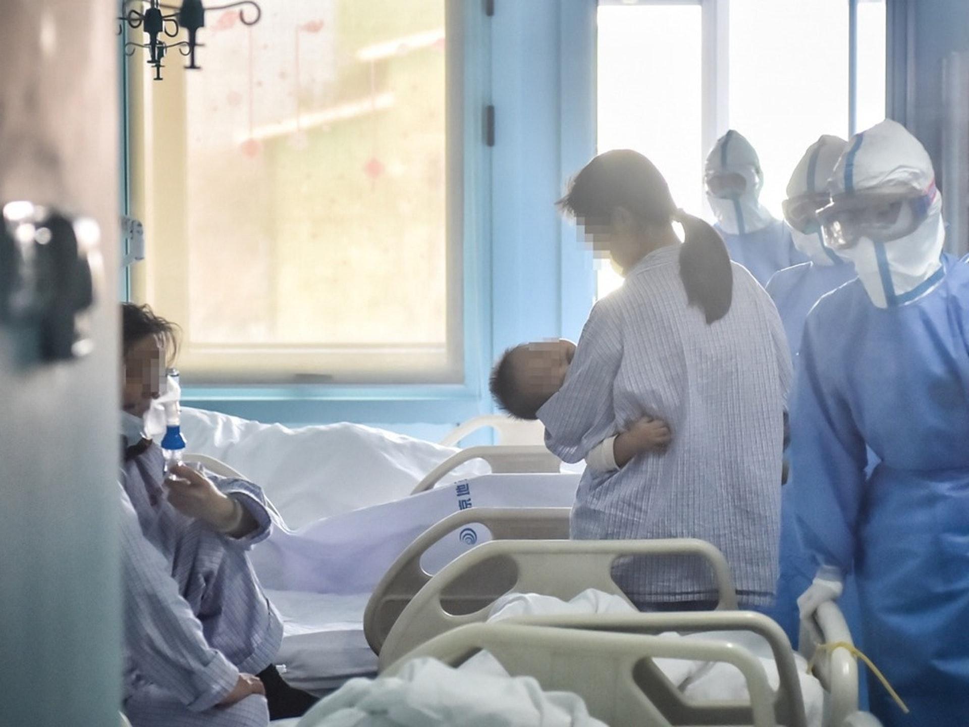 婴儿出生后仅30小时检测出冠状病毒阳性