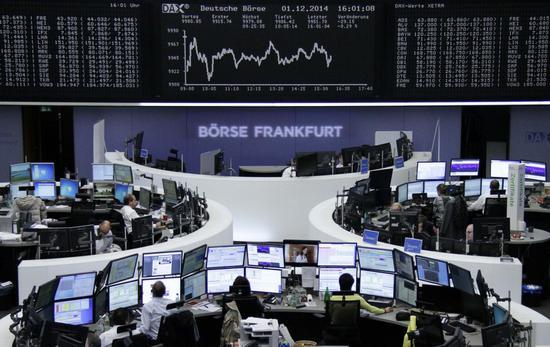 控冠状病毒疫情冲击全球经济 欧股今天走软