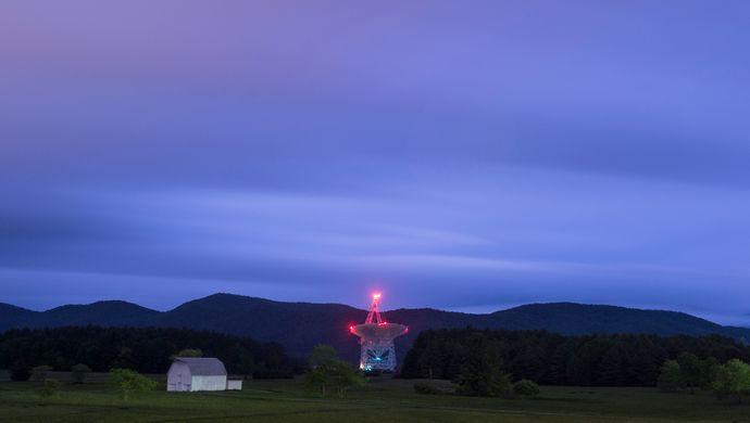 来自太空的神秘信号,每隔16天出现一次