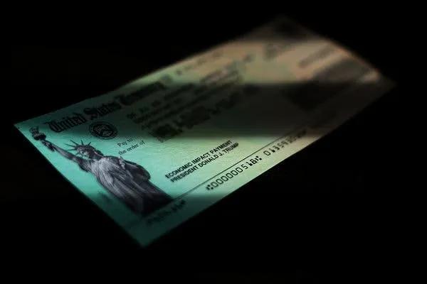 国税局:发放给逝者的刺激付款需退回