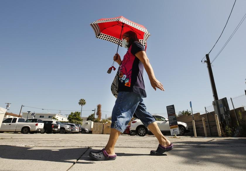 南加热浪来袭,洛杉矶发布高温预警