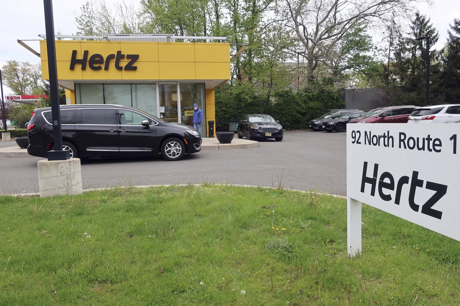租车公司赫兹近日申请破产,低于12%市场价兜售所属车辆
