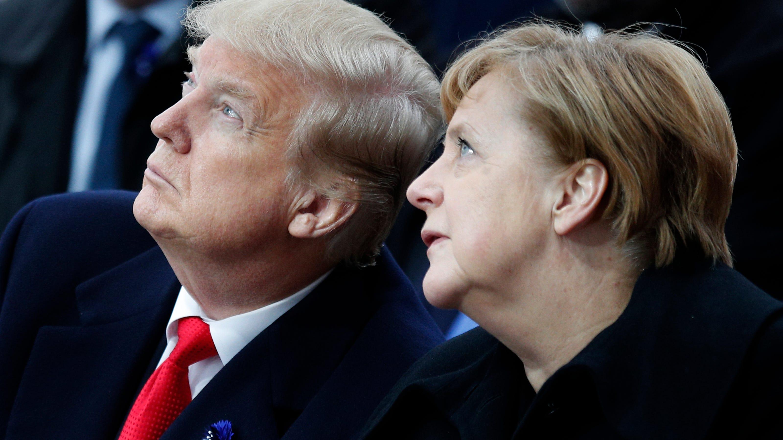 因德国对北大西洋公约组织的贡献不足,特朗普宣布撤销一半的驻美德军