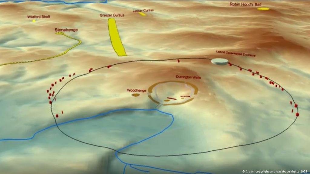 考古学家在巨石阵附近发现了史前文明