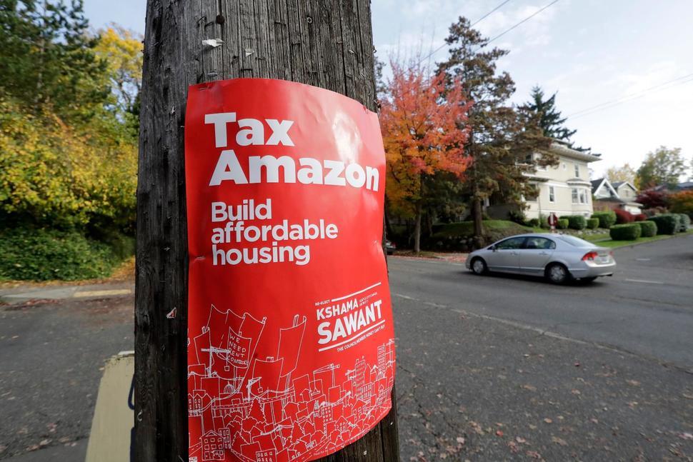 西雅图市议会通过对大企业征收新税政策