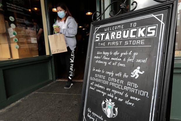 星巴克从7月15日起要求所有顾客入店佩戴口罩