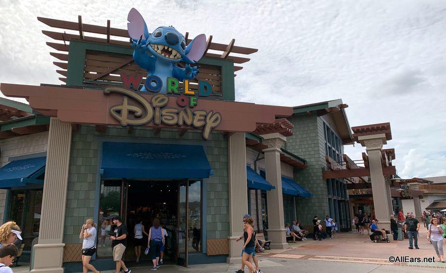 加州迪士尼乐园9日开放园区购物中心和餐饮大楼
