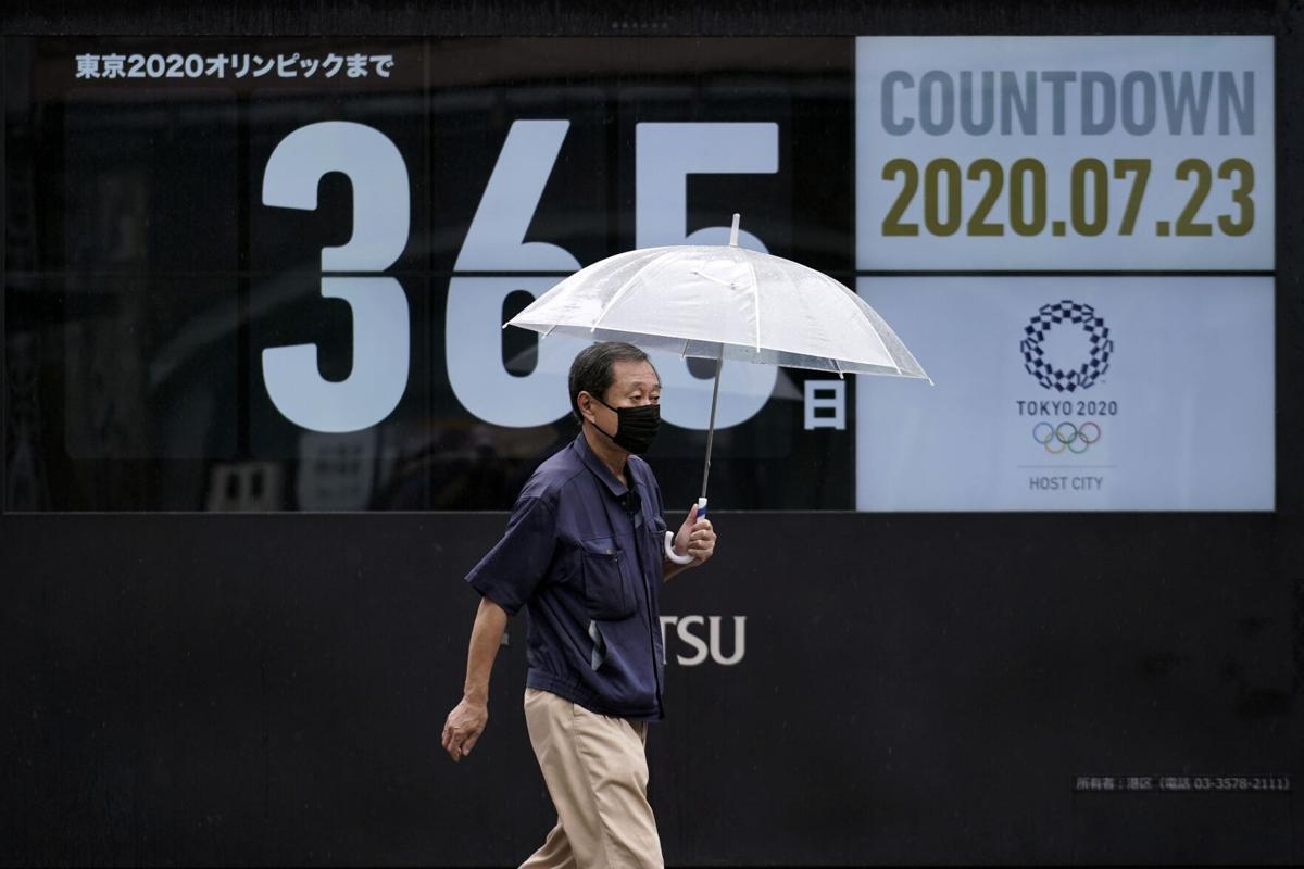 日本官方的奥运倒数电子板重新进入365天倒计时