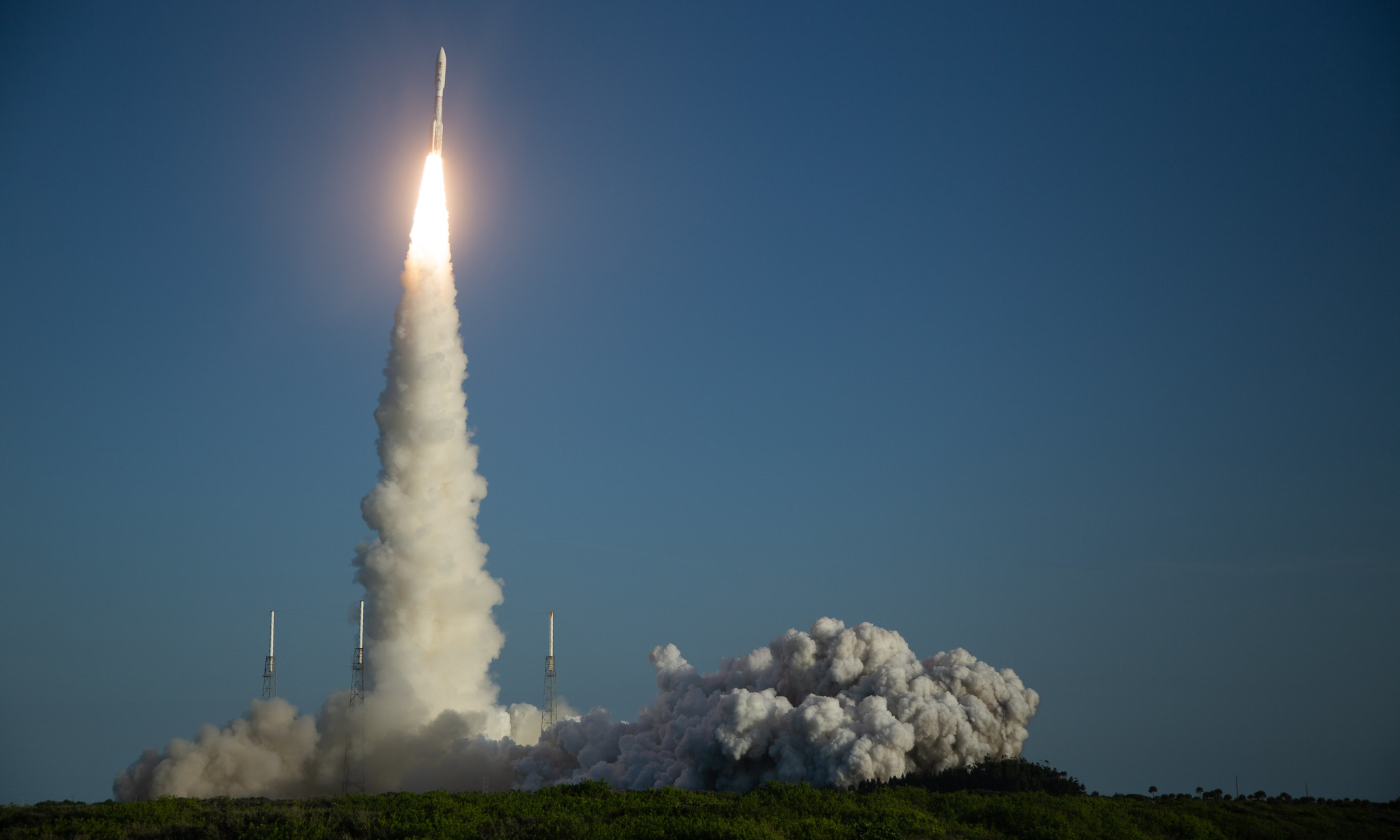 美国成功发射火星探测器「毅力号」