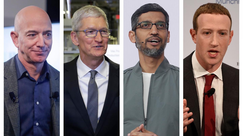 脸书、亚马逊、苹果和谷歌CEO在众议院反垄断会上为各自辩护