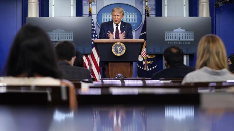 特朗普:将于白宫接受共和党总统提名