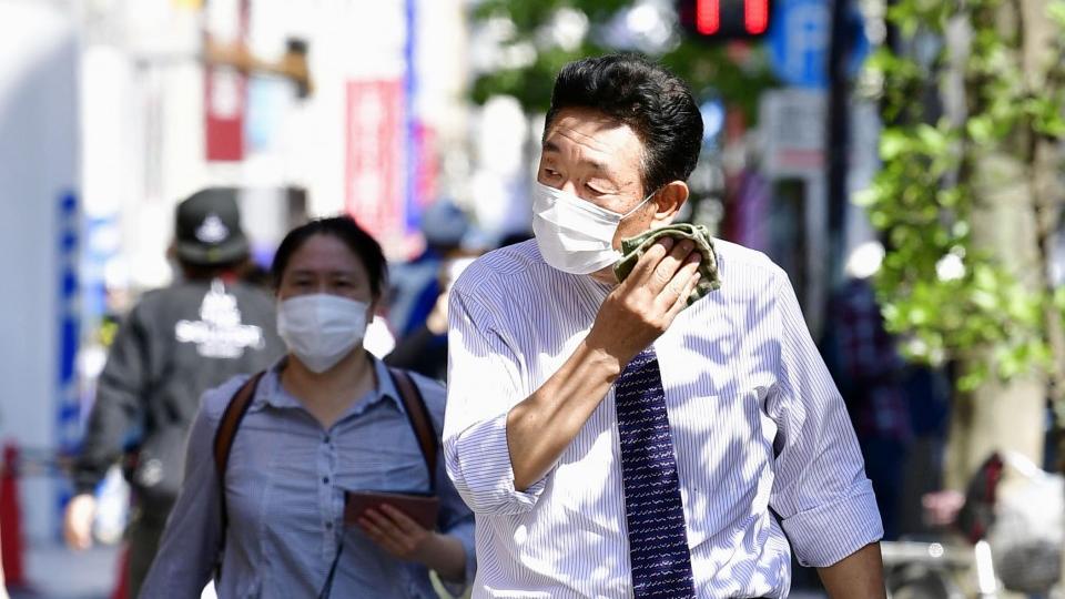 日本持续高温导致许多人中暑就医甚至死亡