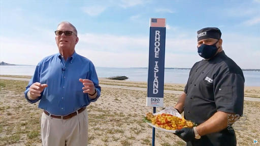罗德岛州在民主党大会上宣传特色美食成焦点