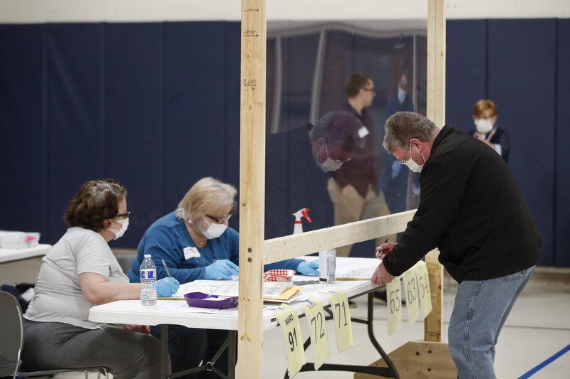 新研究:现场投票染疫风险低于预期