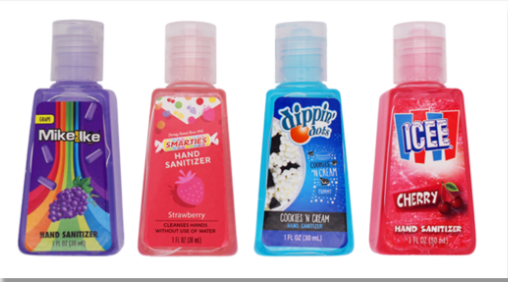 FDA警告民众不要购买类食品包装的洗手液,以免小孩误食