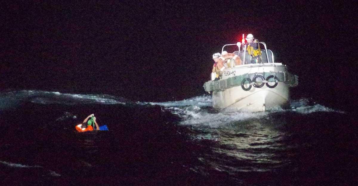 巴拿马籍货船凌晨在日本海域失联,42名船员下落不明