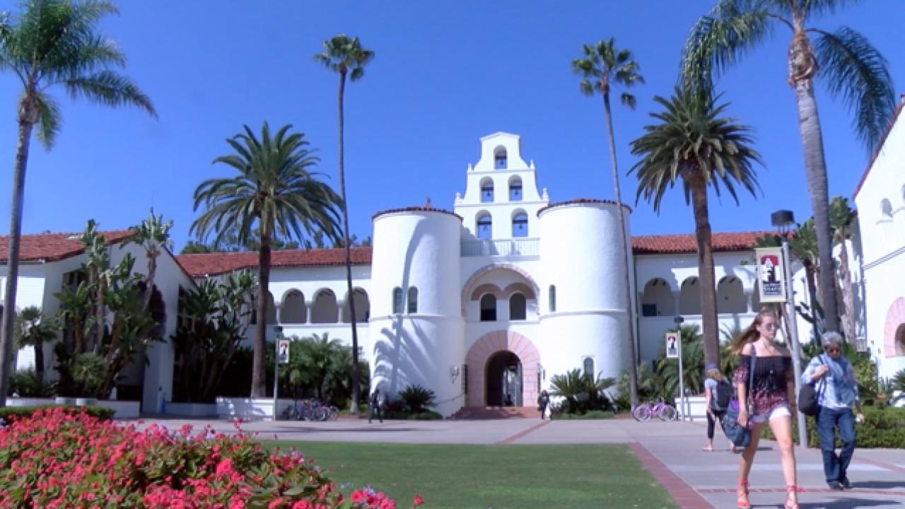 圣地亚哥州立大学学生确诊新冠人数持续增加