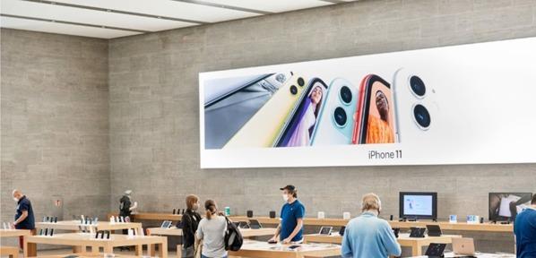 苹果公司自研口罩供给内部及零售店员工防护