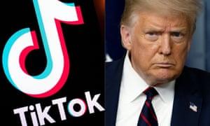 特朗普表示不满意甲骨文公司竞购 TikTok 的条款