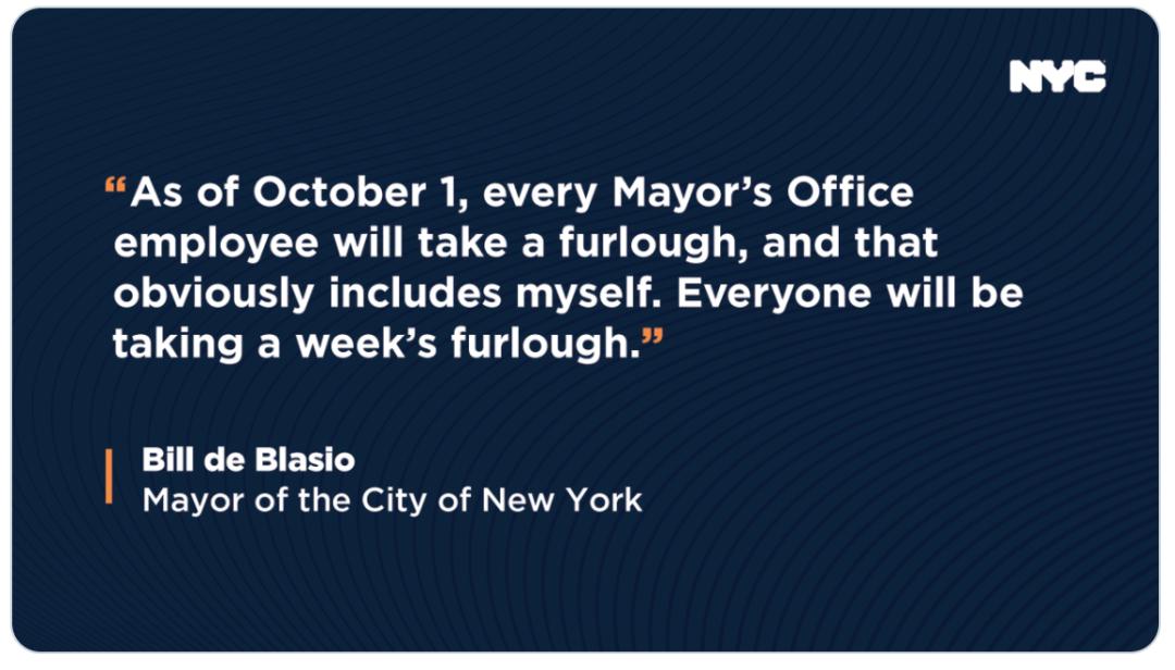纽约市府职员无薪休假一周缓解赤字