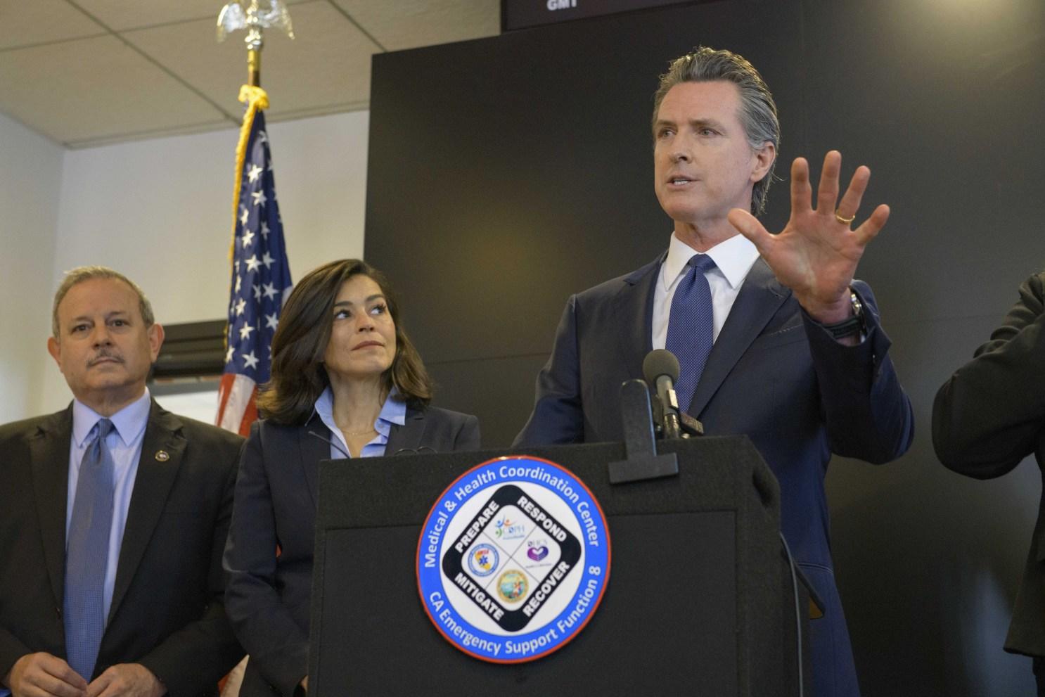 加州州长驳回圣地亚哥重启经济请求