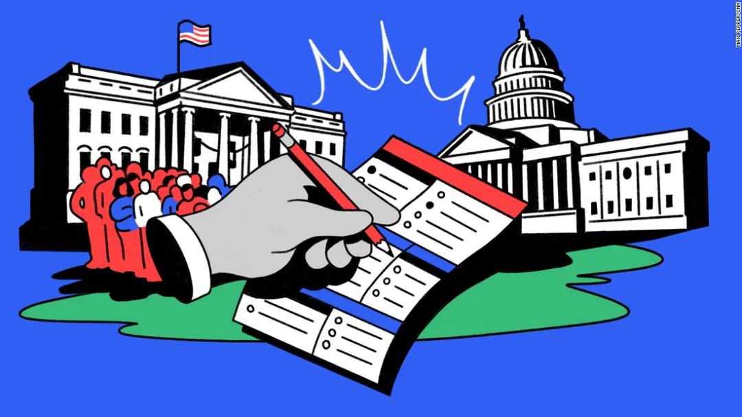 2020美国大选,选民登记投票指南