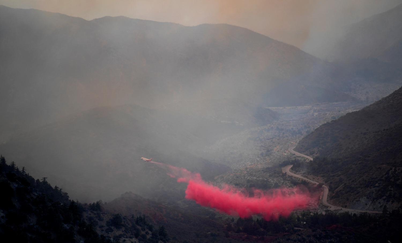 山猫野火截止至22日中文已燃烧至109,271英亩