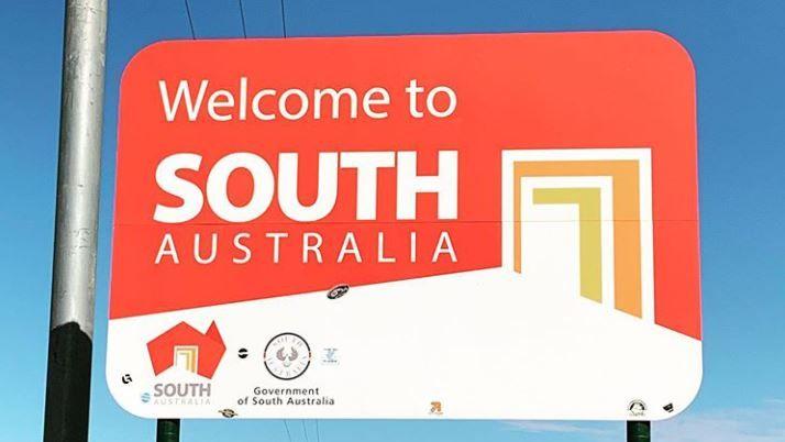 南澳大利亚州接触新南威尔士州之间的边界限制