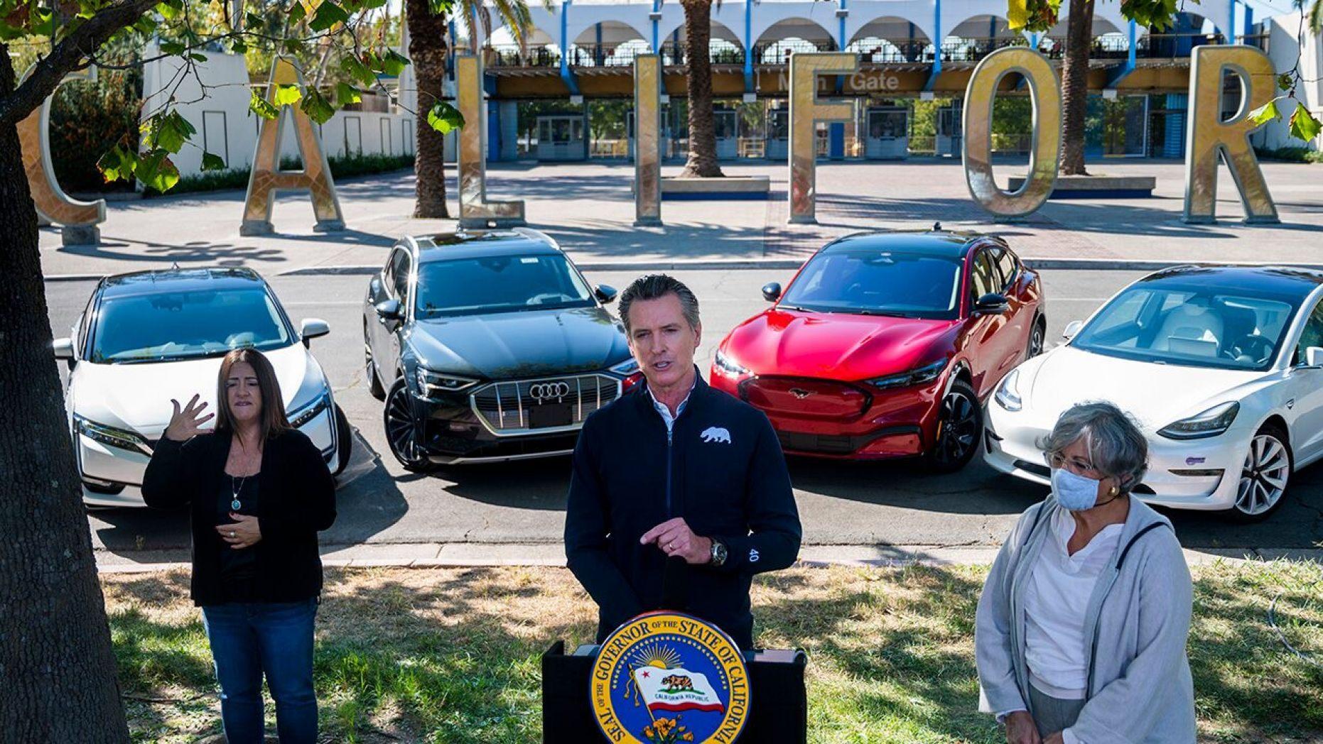 加州将从2035年起要求所有新车必须实现零排放