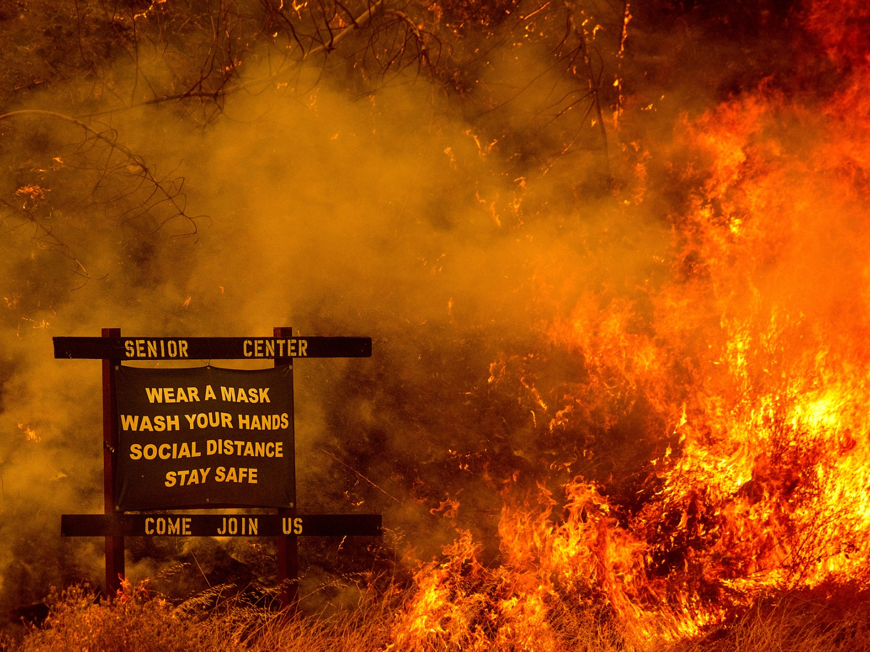 洛杉矶新冠测量或因山火原因大幅减少
