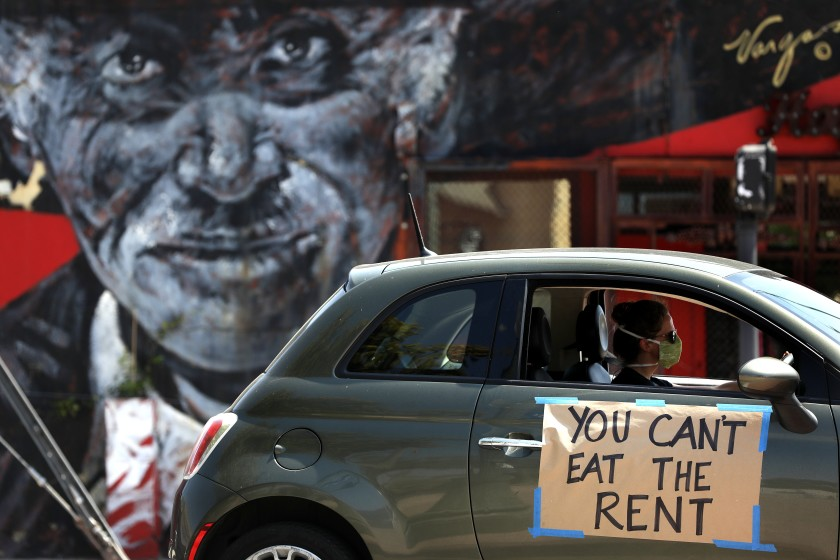 洛杉矶推行法律援助,保护低收入租客疫情期间免受房东驱逐