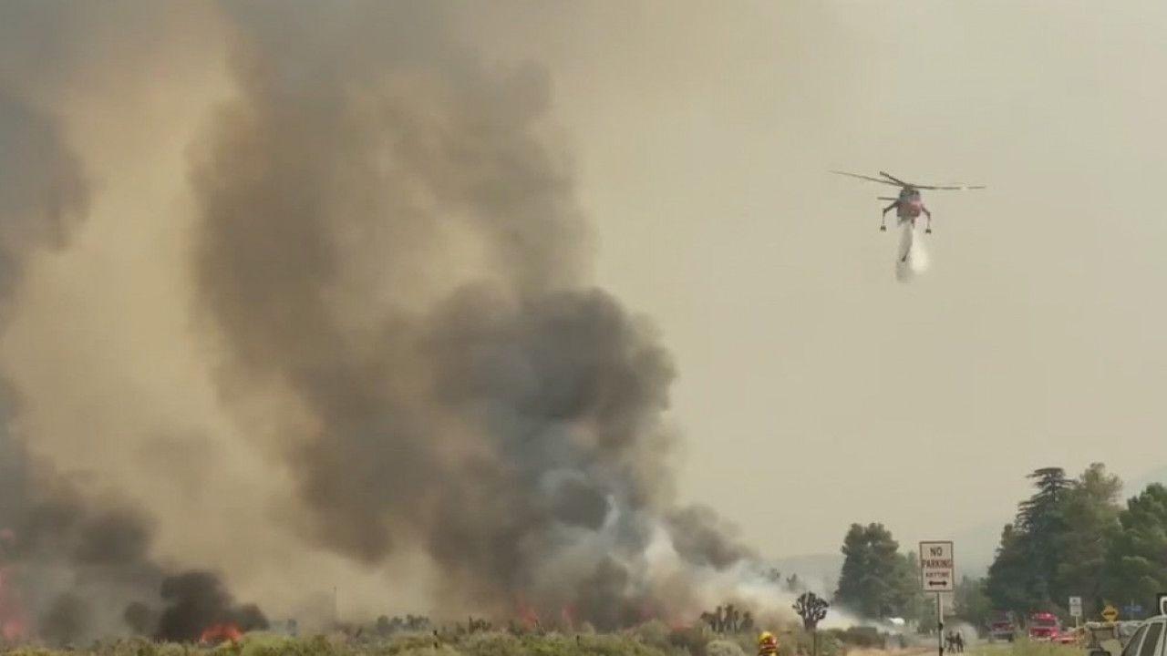 山猫野火24日上午火势控制50%,取得突破性进展