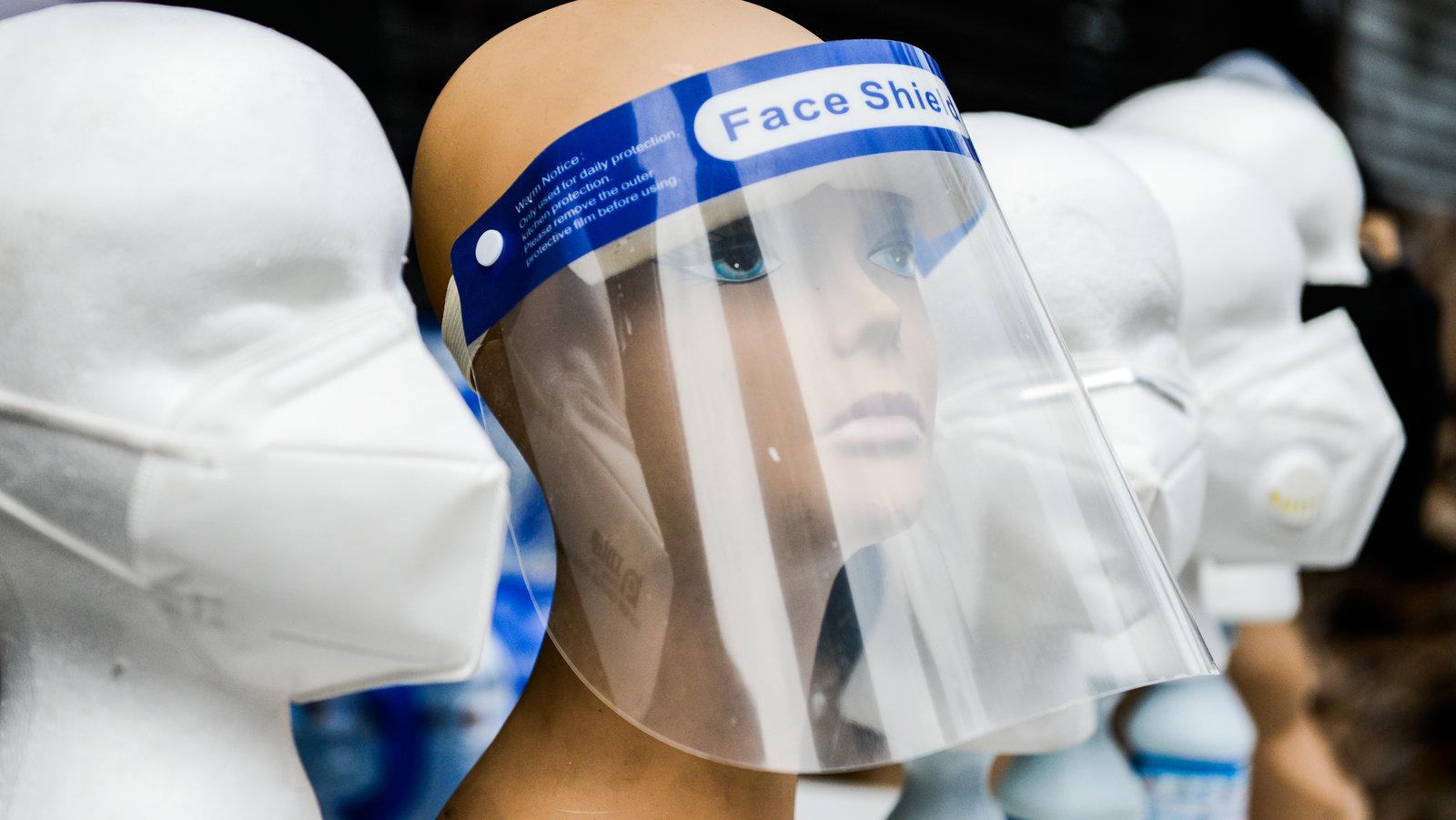 研究表明透明面罩无法完全防护新冠病毒
