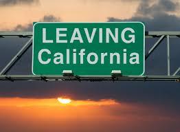 加州迁往外州的人数近期大幅度增加