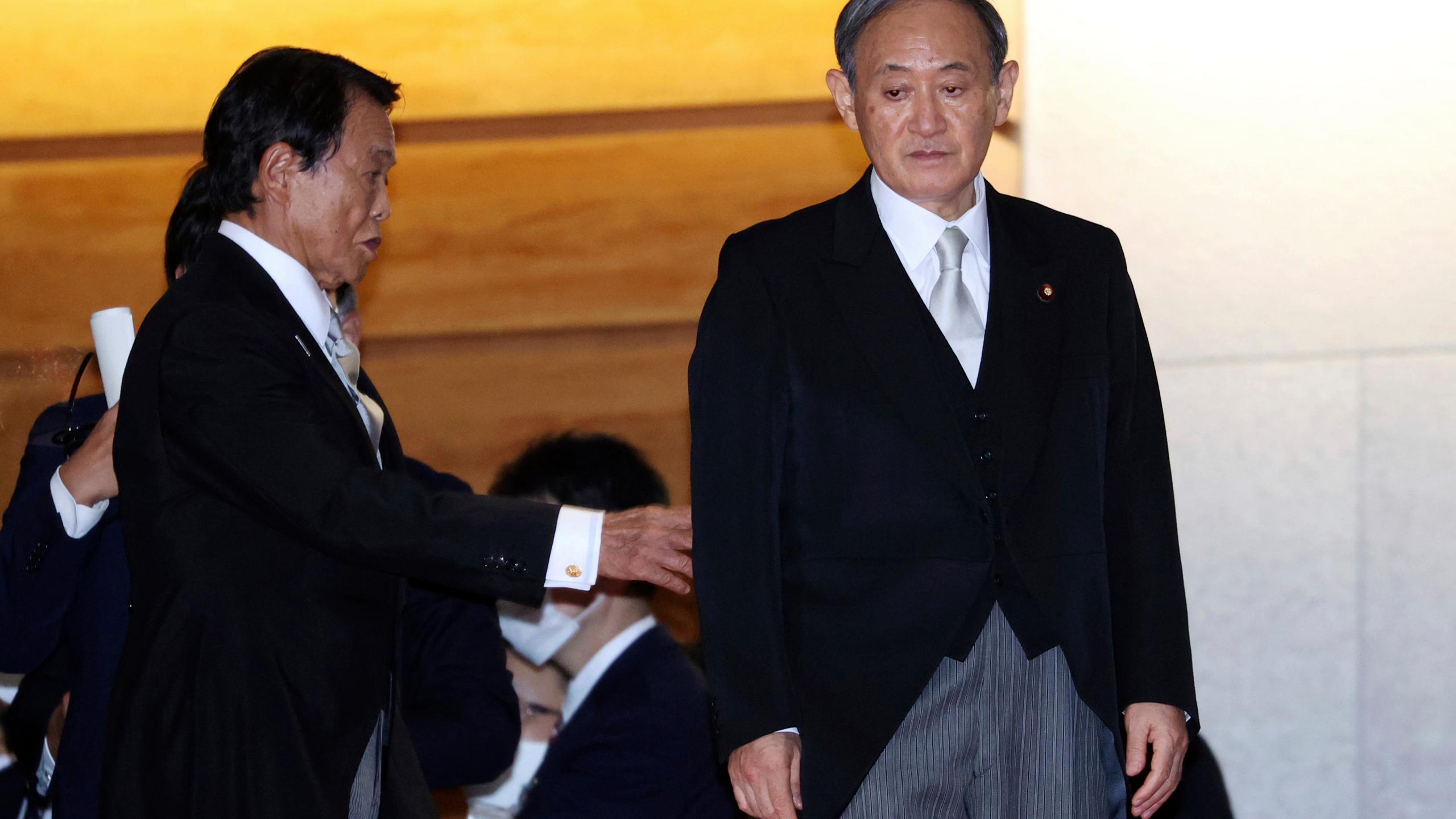 日本首相菅义伟首度召开新冠防疫会议