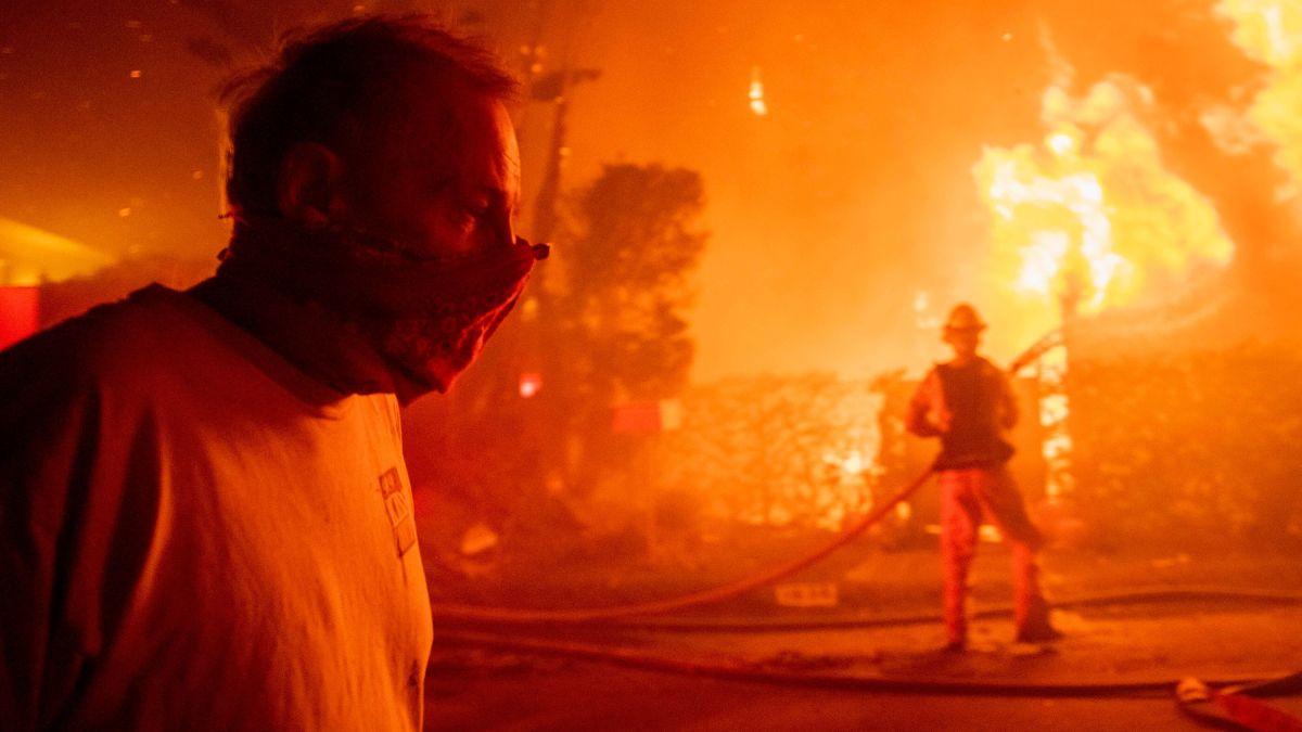 南加州29日起再遇高温、圣塔安那风等山火风险气候