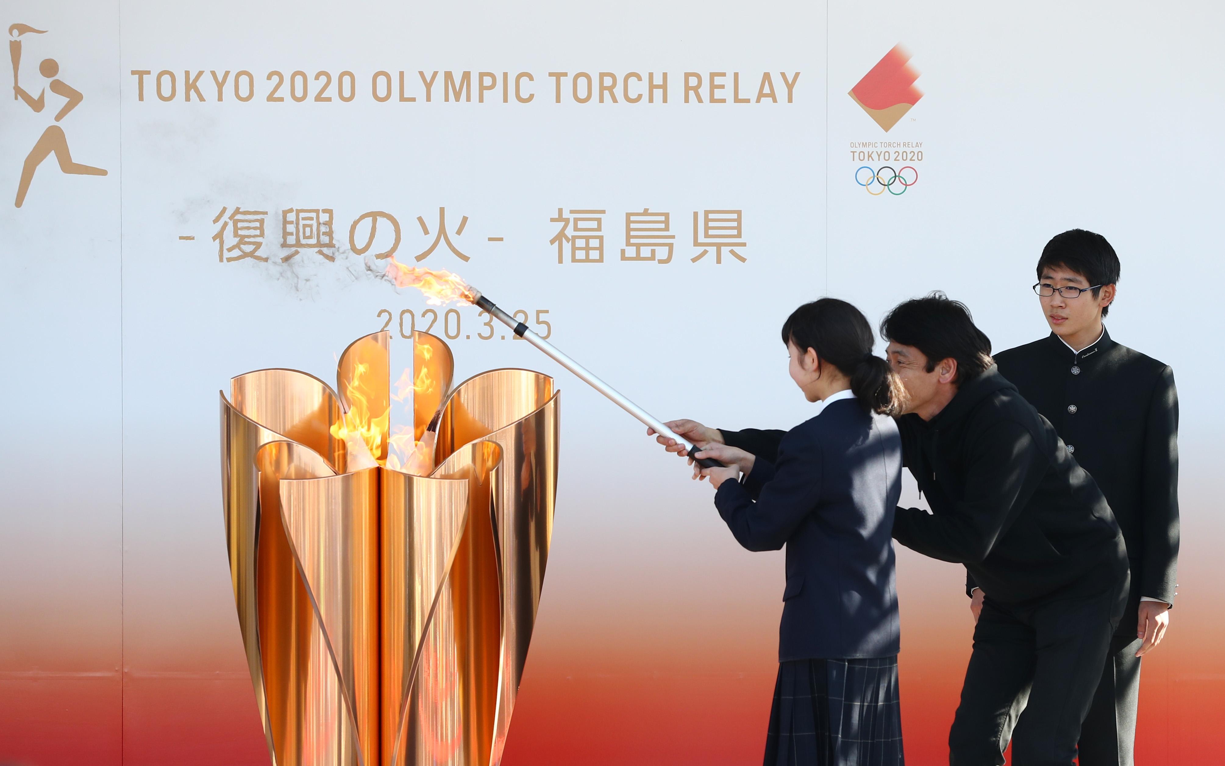 东京奥运会火炬接力定于2021年3月25日启动