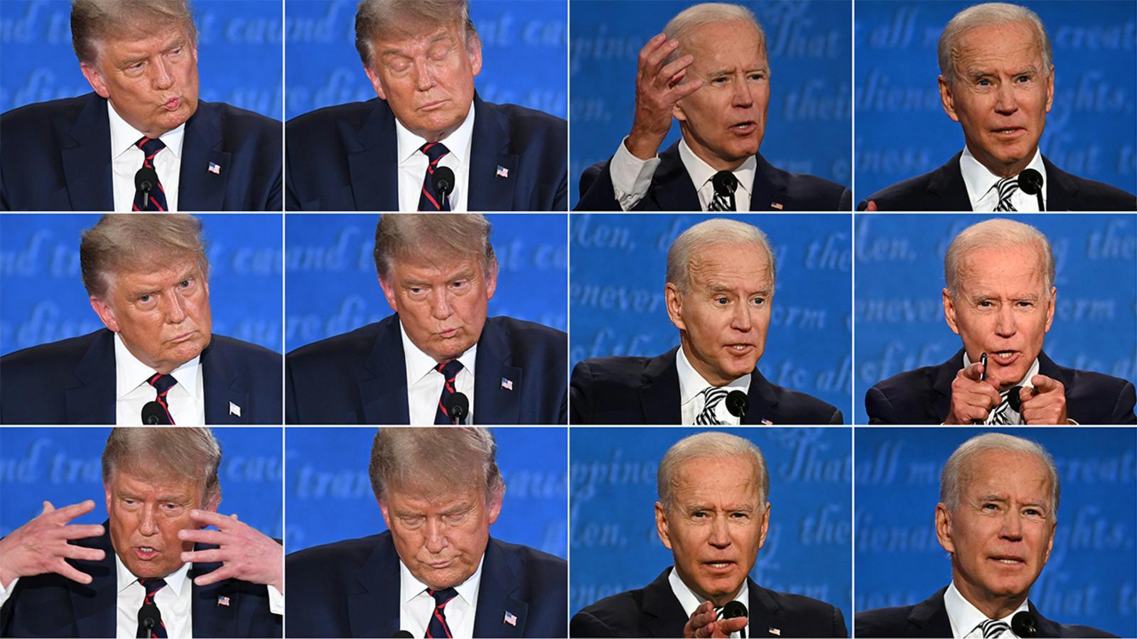 总统大选首场辩论被称为史上最混乱的电视辩论