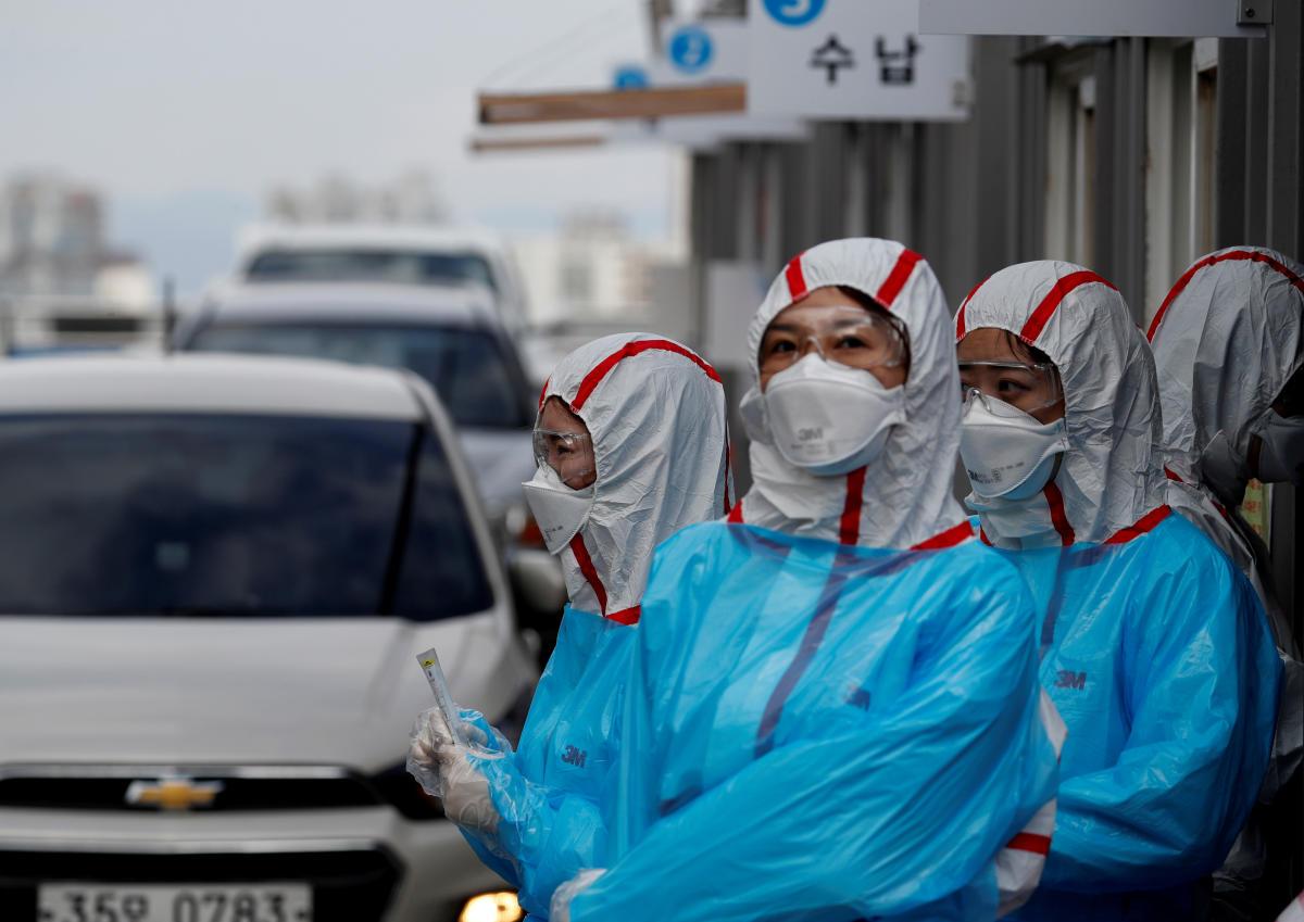 韩国新增新冠113例,期中20例属境外输入