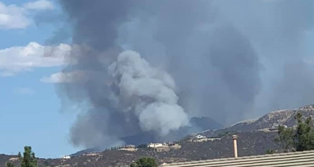 埃尔多拉多野火大面积受控,38号公路已重新开放