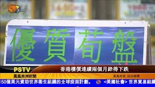 香港樓價連續兩個月錄得下跌