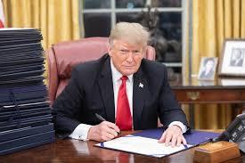 特朗普签署行政令,宣布美国采矿业处于国家紧急状态
