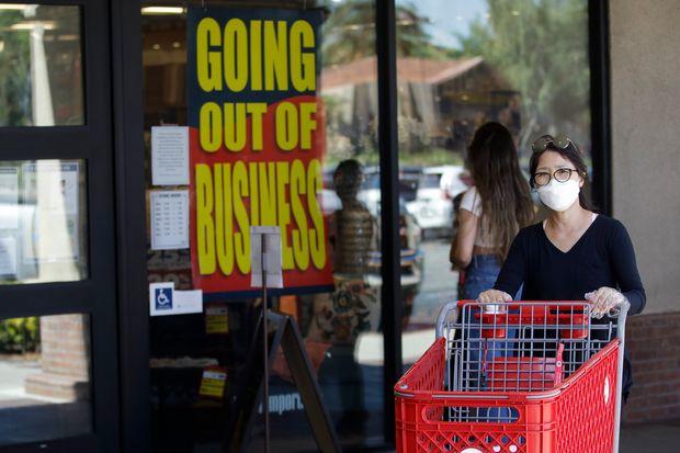 美零售业上半年破产及关闭数量创新高