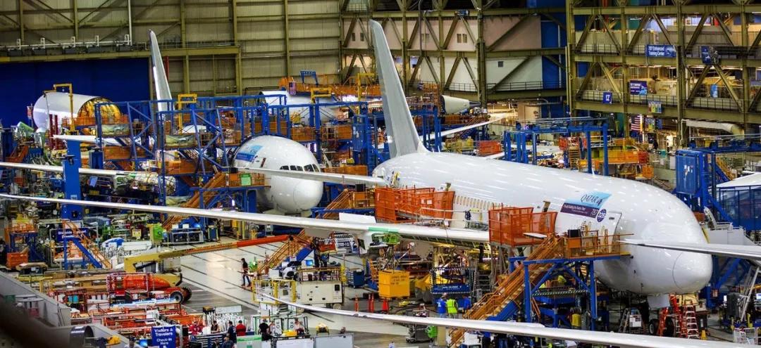 波音整合资源 关787华盛顿州生产线