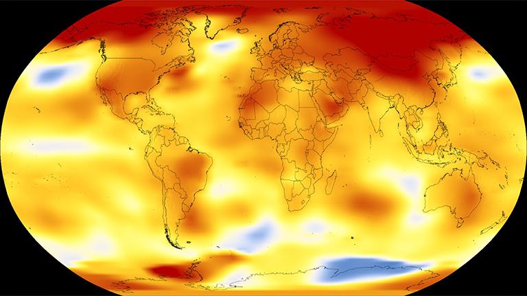 全球气候今年有三个月份创下高温纪录