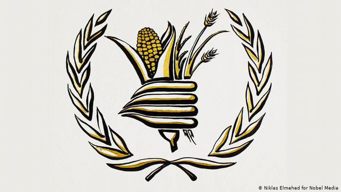 诺贝尔和平奖由世界粮食计划署获得殊荣
