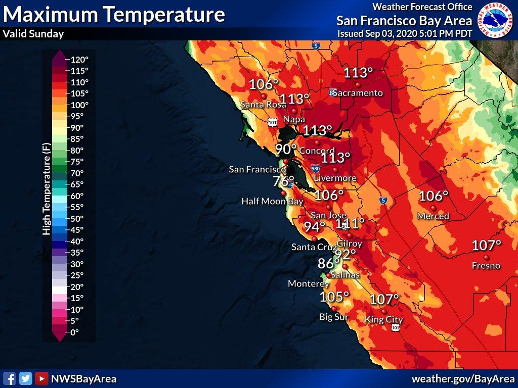 南加州地区周二再度遭遇高温极端天气