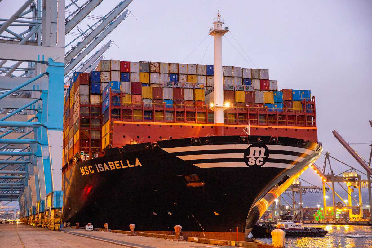 洛杉矶港9月份吞吐量超88万标准箱,连续三个月增长