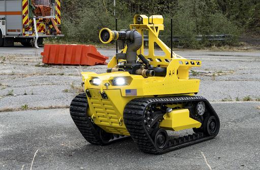 全美首个迷你机器人消防员Thermite RS3第一次执行任务